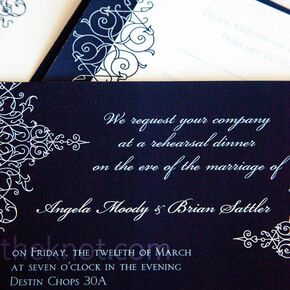 navy wedding invitations - Navy Wedding Invitations