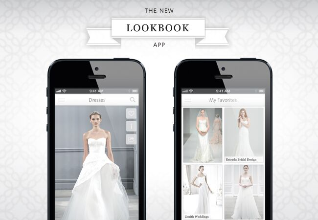 5 Reasons To Get Our New Wedding Dress Lookbook App!