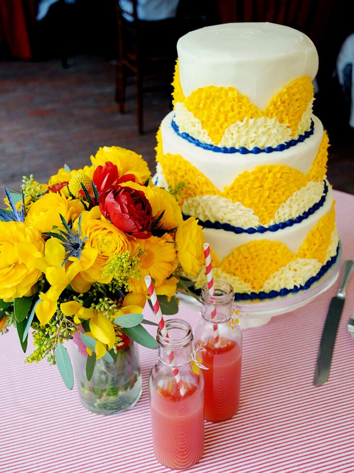 A Bright and Sunny Wedding in Winston-Salem, NC