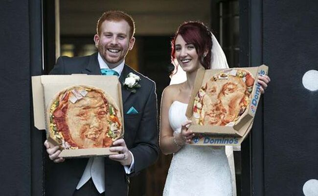 Wedding Pizza Portraits
