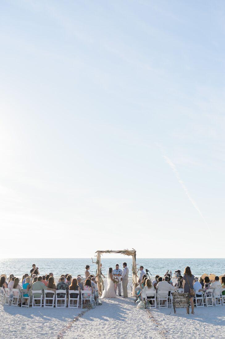 Barefoot Beach Wedding Ceremony