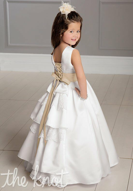 Sweet Beginnings L890 Flower Girl Dress photo