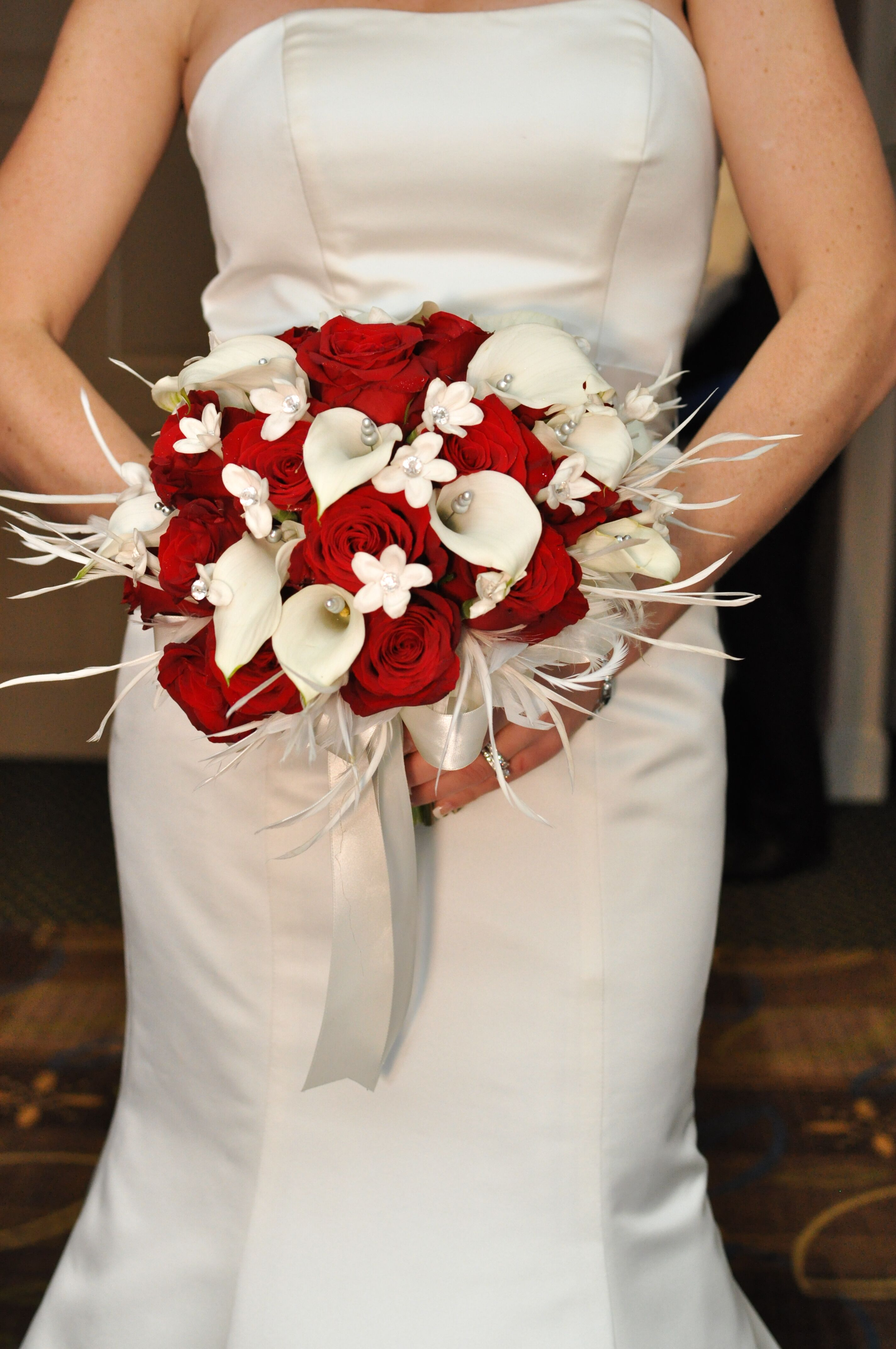Ivory Calla Lily bouquet Bridal Bouquet wedding by ... |Lily Bridal Bouquets