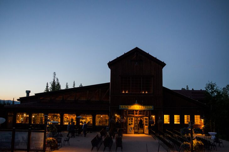 Ten Mile Station Wedding Venue in Colorado