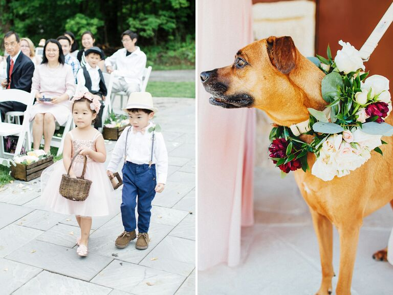 Ring bearer wedding trends