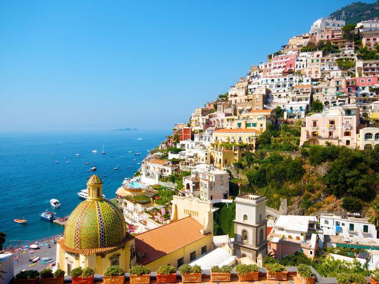 Europe Wedding Destination Amalfi Coast Italy