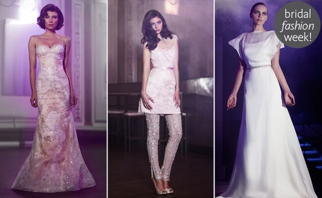 Anne Bowen Spring 2014 Wedding Dresses