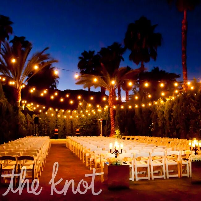 Night Beach Wedding Ceremony Ideas: A Modern Gay Wedding In Palm Springs, CA