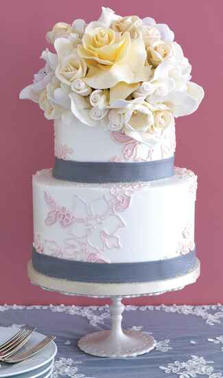 Sylvia Weinstock Cakes flower wedding cake