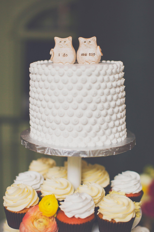 Vintage Wedding Cupcakes