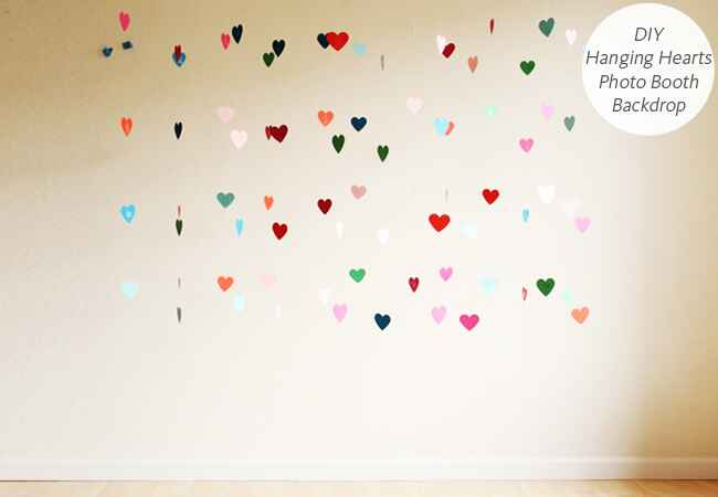 DIY wedding projects with hearts: Hank & Hunt / TheKnot.com
