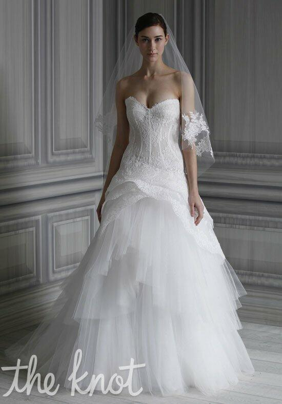 Monique Lhuillier Pauline Wedding Dress photo