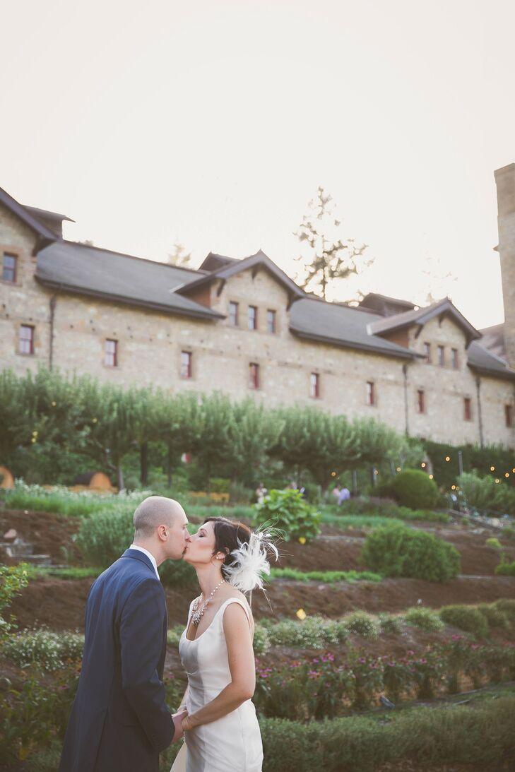 An Elegant Wedding At The Culinary Insute Of America Greystone In St Helena California
