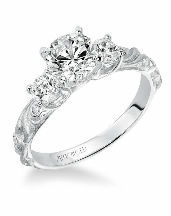 ArtCarved 31-V101ERW Engagement Ring photo