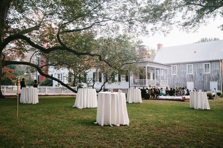 Victorian Estate Outdoor Cocktail Hour And Reception