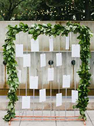 Escort card display tips