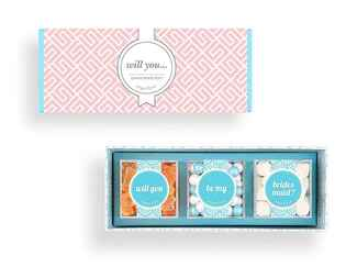 Sugarfina bridesmaid candy delivery