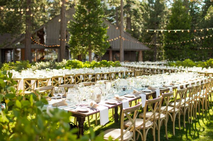 Outdoor Wedding Venues: A Outdoor Beach Wedding In Lake Tahoe, CA