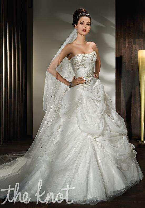 Demetrios 2844 Wedding Dress photo