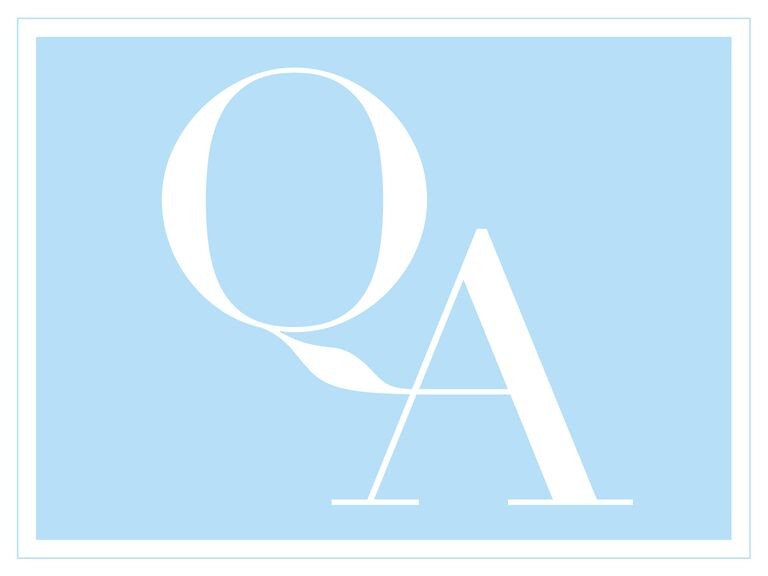 Blue and white Q and A