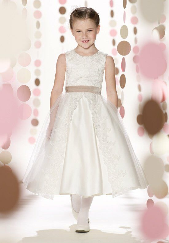 Joan Calabrese by Mon Cheri 213305 Flower Girl Dress photo