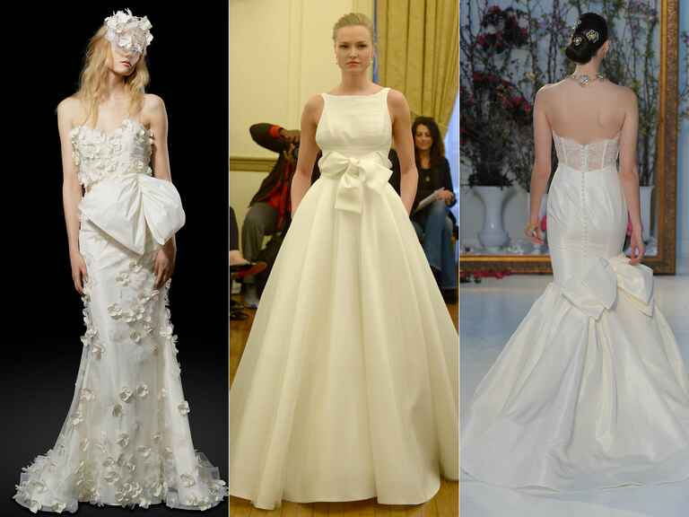 Elizabeth Fillmore wedding dress, Peter Langner wedding dress, Anne Barge wedding dress