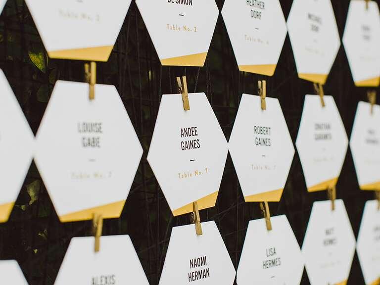 escort place cards ideas advice