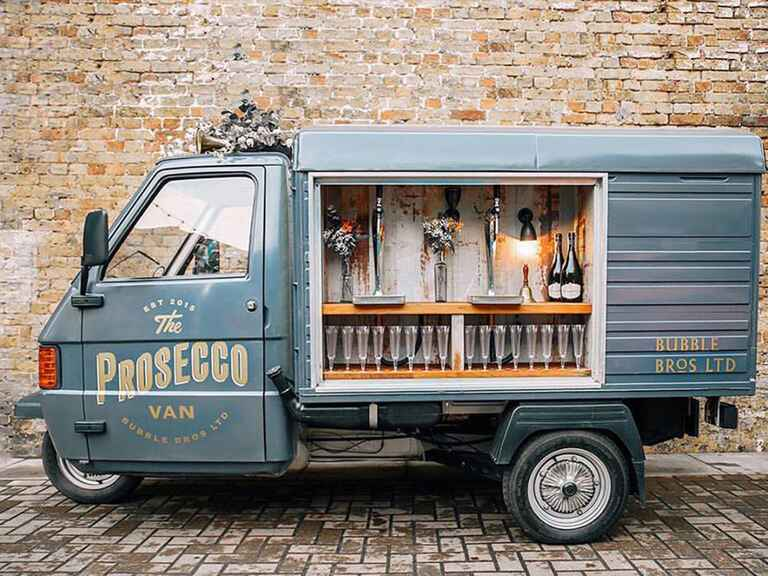 The Prosecco Van by Bubble Bros.