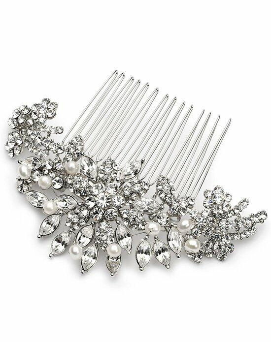 USABride Alexa Pearl & Rhinestone Comb TC-2228 Wedding Pins, Combs + Clips photo