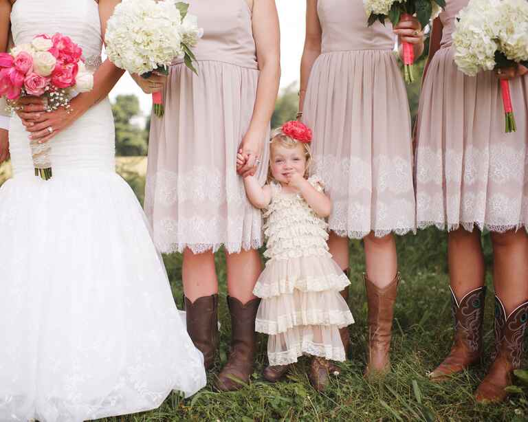Unique ideas to make your flower girl stand out