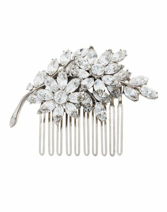 Thomas Laine Crystal Flower Comb Wedding Pins, Combs + Clips photo