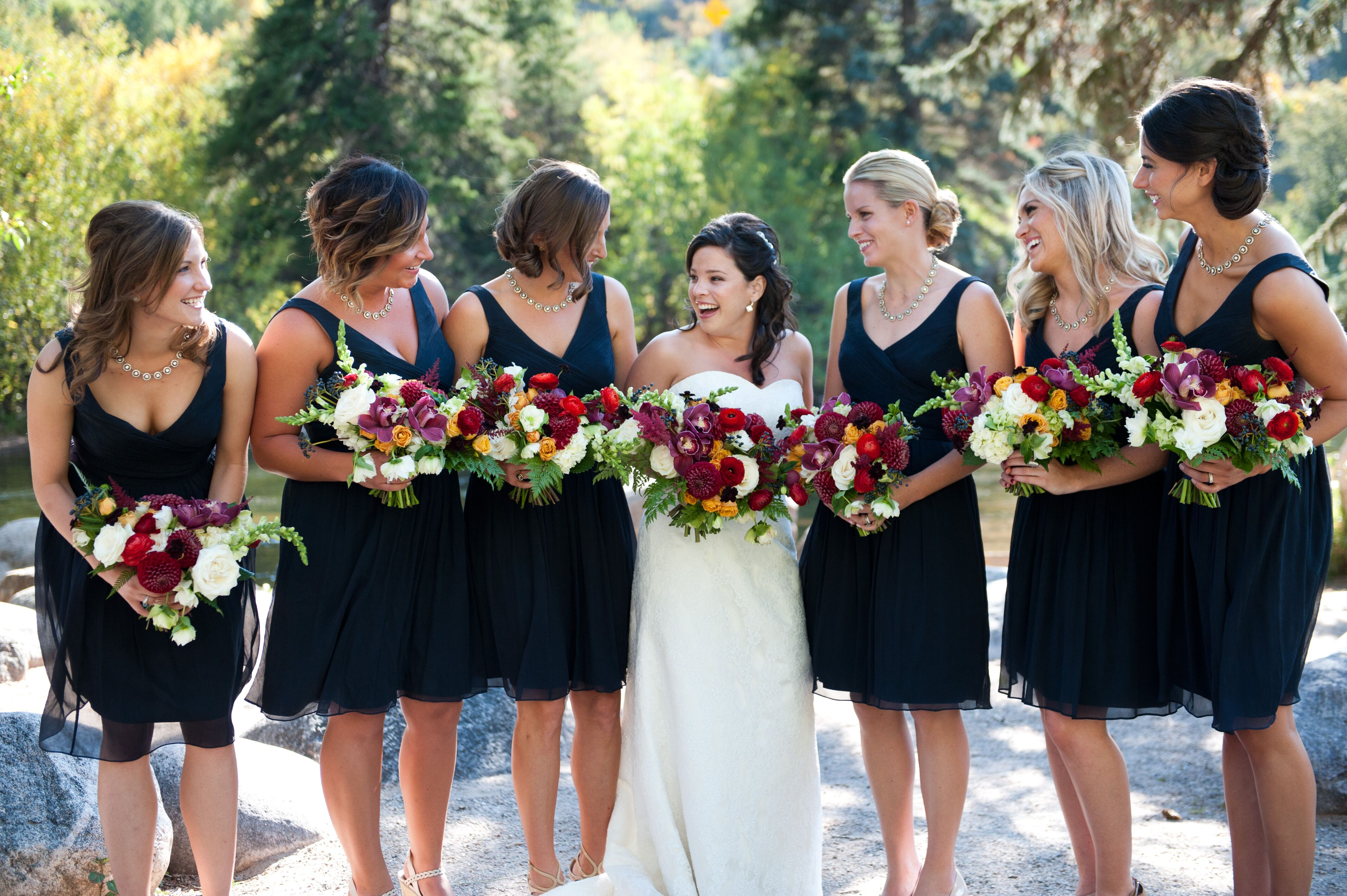 Navy Blue J Crew Bridesmaid Dresses