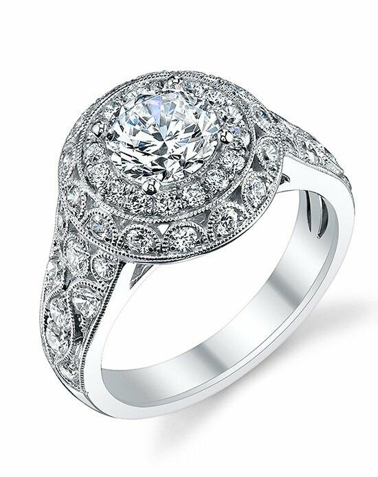 Sylvie Collection S1133 Engagement Ring photo