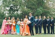 For Susan Ittoop (27 and a media buyer) and Parth Oza's (26 and a civil engineer) traditional Hindu wedding, the couple added DIY touches and plenty o