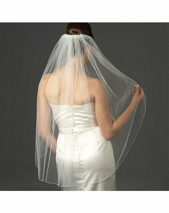 USABride 1 Layer, Swarovski Crystal Veil VB-477 Wedding Accessory photo