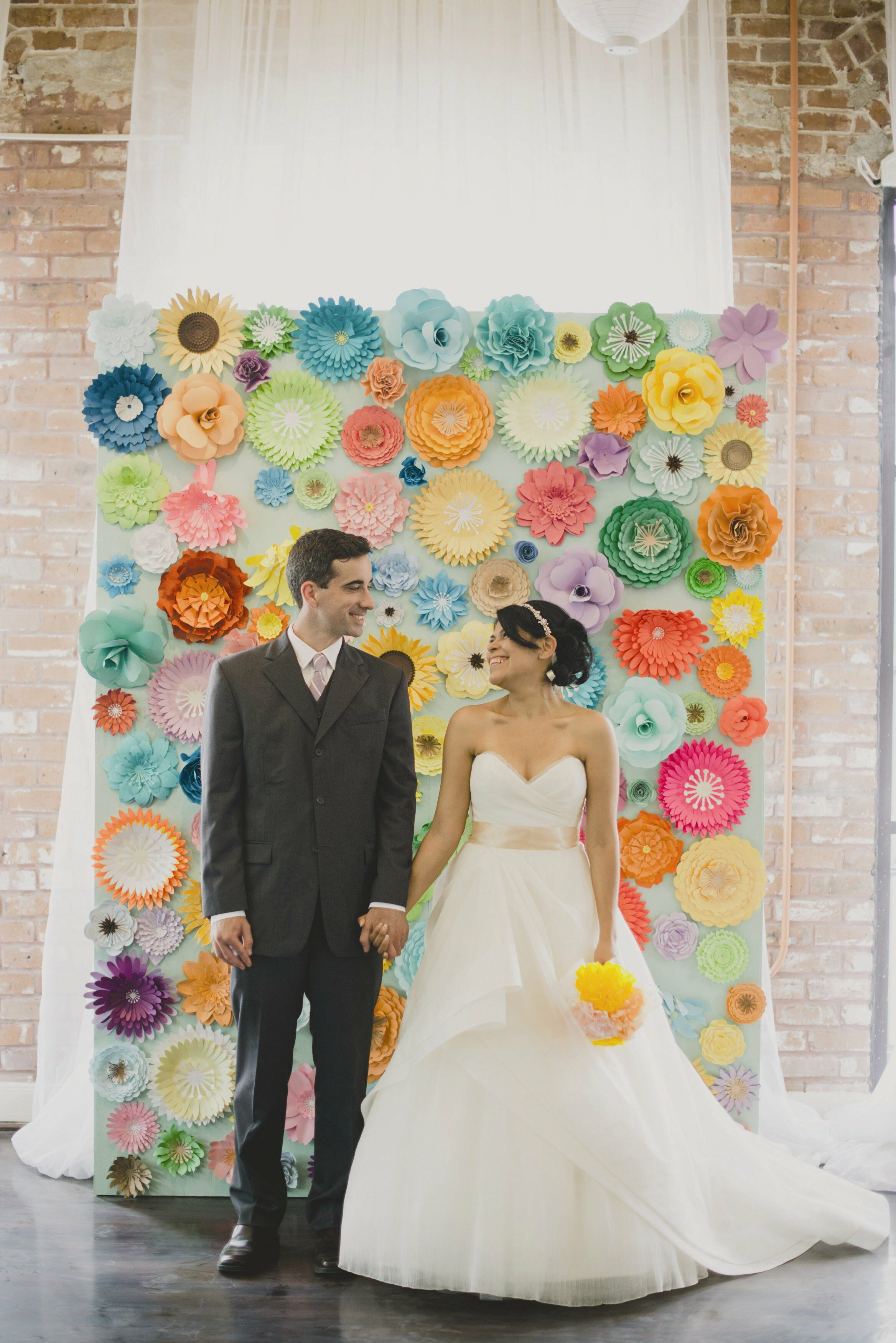 A Colorful Whimsical Wedding At Station 3 In Houston Texas