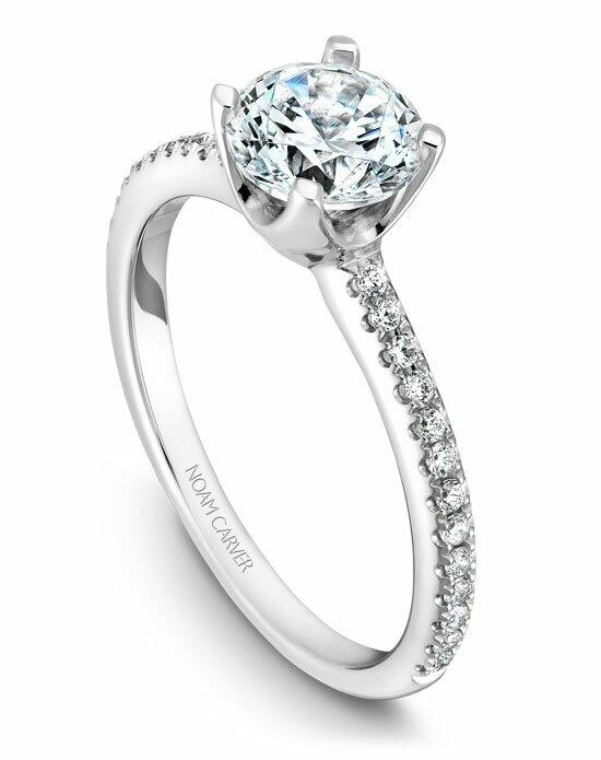 Noam Carver B027-02WS-100A Engagement Ring photo