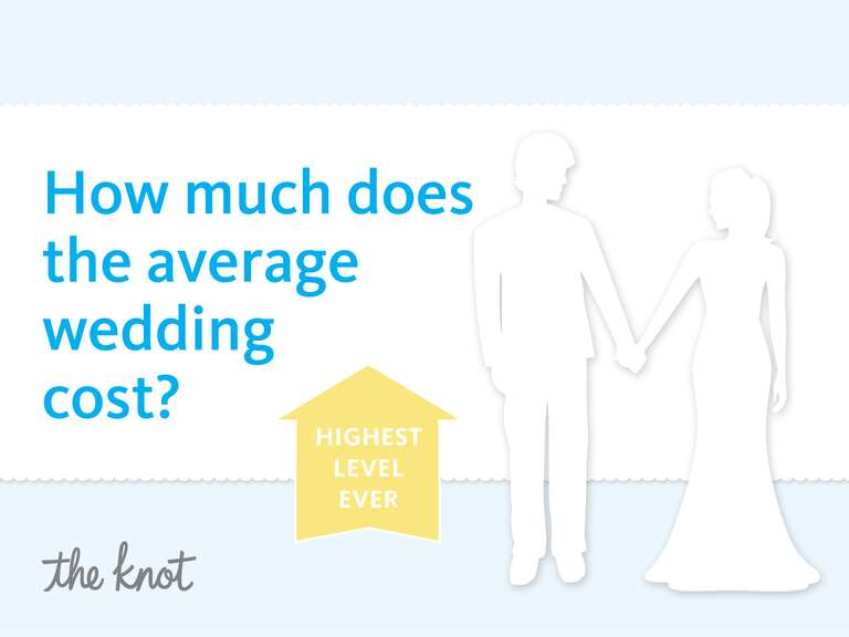 And The National Average Cost Of A Wedding Is