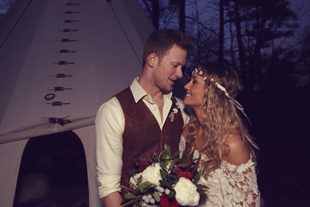 Brian Kelley Boho Chic Wedding