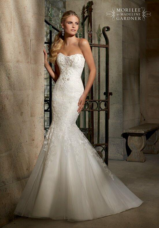 Mori Lee by Madeline Gardner 2707 Wedding Dress photo