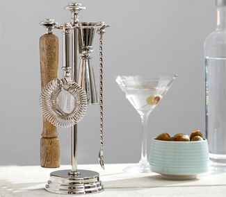 Pottery Barn Bar Tools registry idea