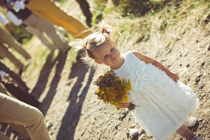A Gold-Studded Country Wedding at a Private Residence in Meeker, Colorado