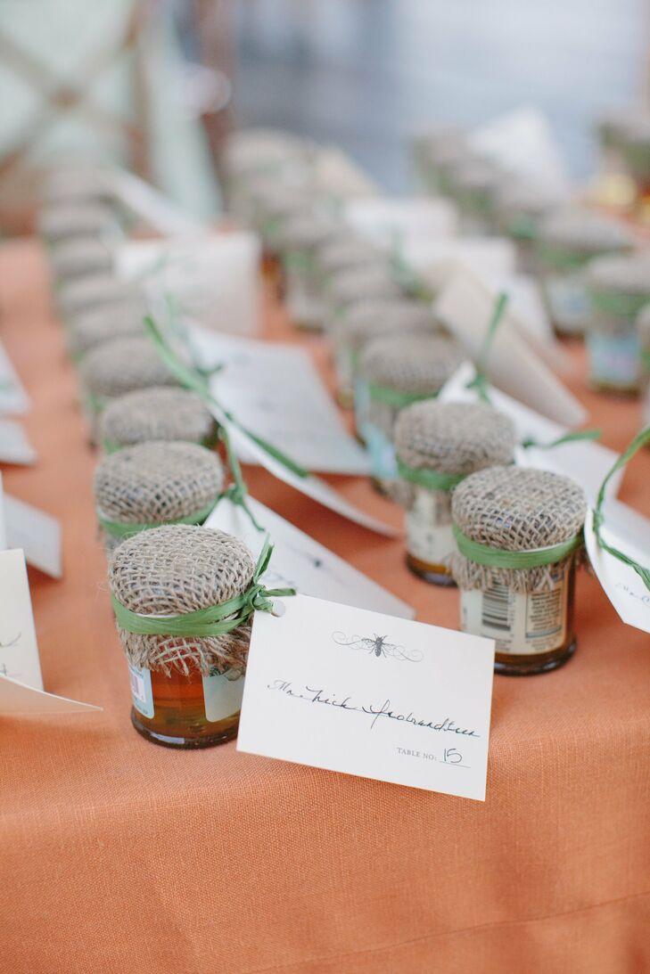 Honey Jar Escort Cards