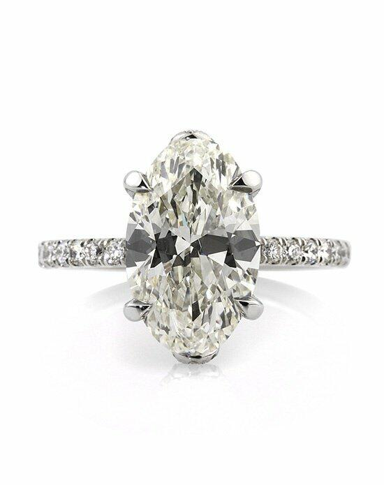 Mark Broumand 5.09ct Oval Cut Diamond Engagement Anniversary Ring Engagement Ring photo
