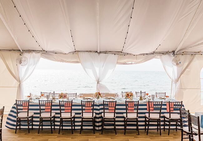 This Wedding Is All-Out Nautical (See The Photos!)