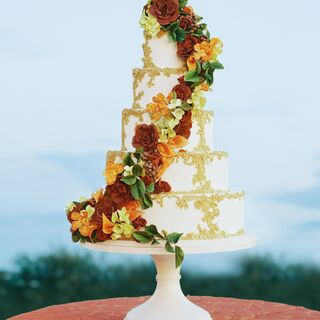 Real Fall Wedding Cakes