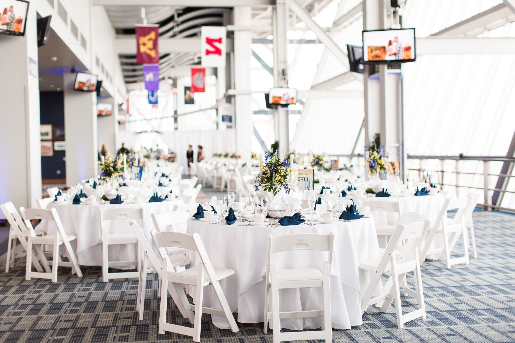 A Penn State Wedding at Beaver Stadium in State College, Pennsylvania