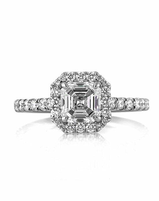 Mark Broumand 1.95ct Asscher Cut Diamond Engagement Anniversary Ring Engagement Ring photo