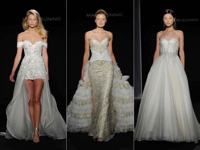 Wedding Gowns 2016: Mark Zunino Fall 2016 Collection: Wedding Dress Photos