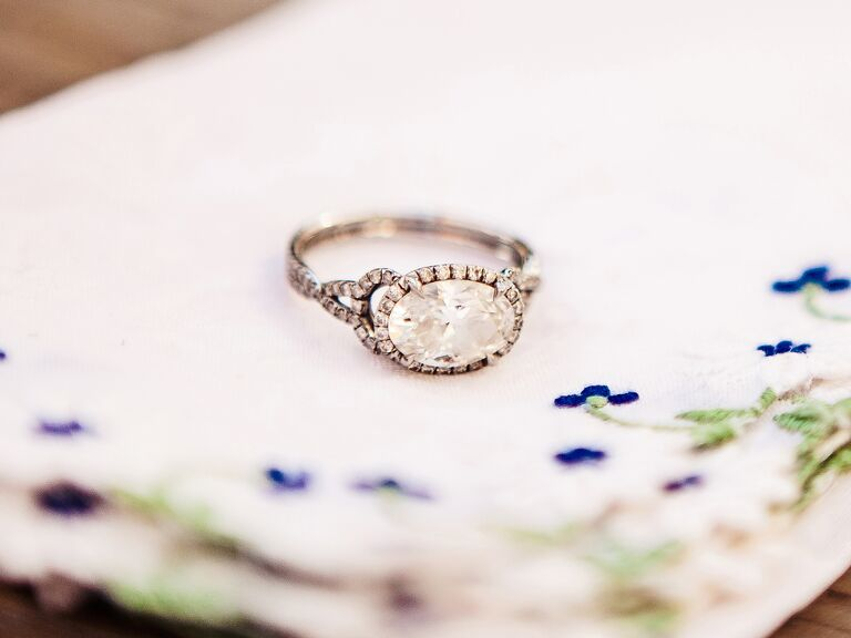 Vintage heirloom wedding ring
